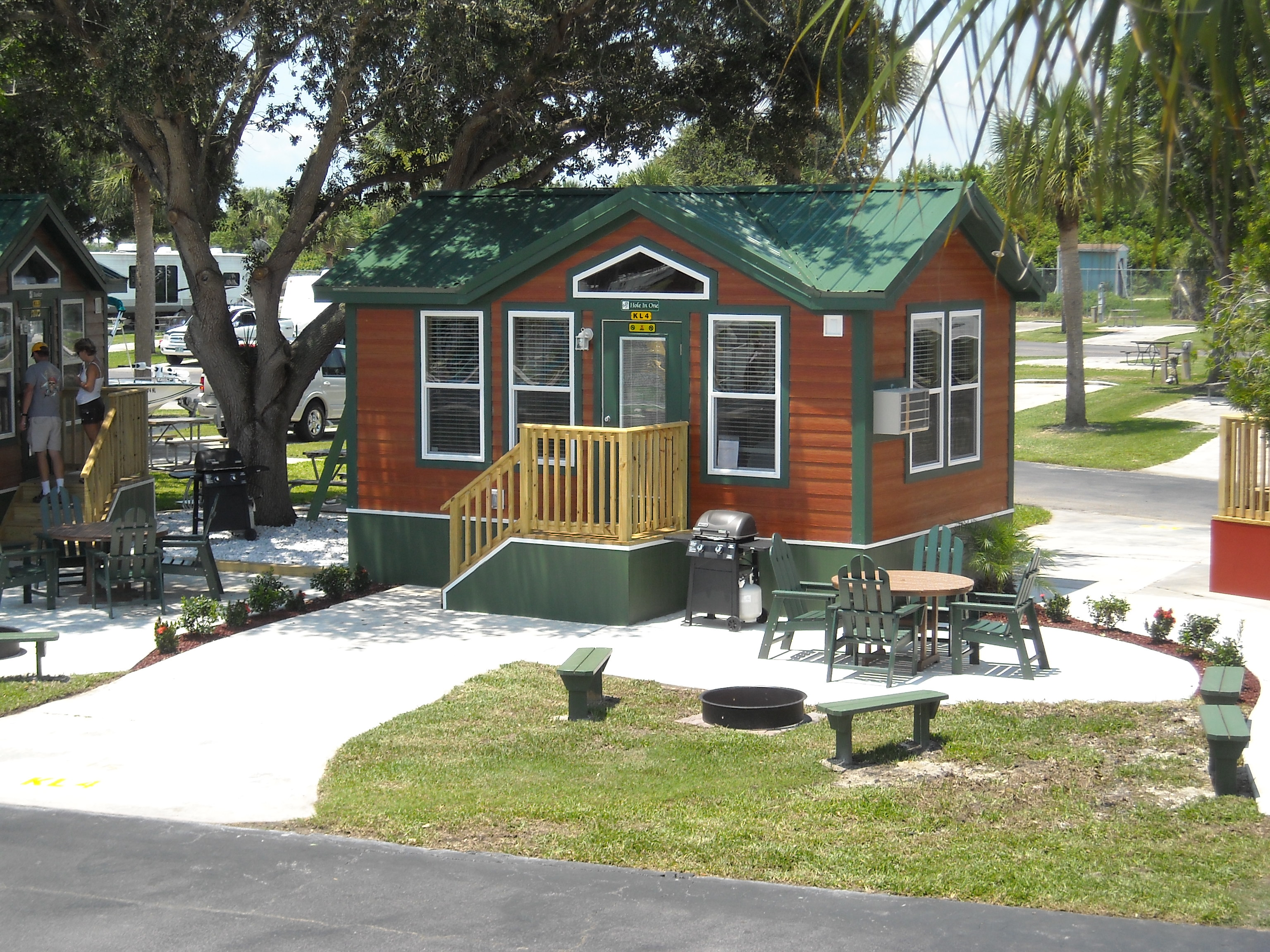 to cabin and party trailer cabins rv disney florida rentals meacham meachams brings at s travel fort disneys rental resort you wilderness the campground