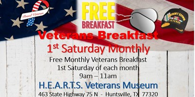 Free Veterans Breakfast