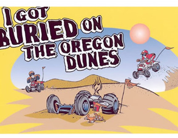 The title says it ALL!  The favorite activity at Oregon Dunes KOA is riding the dunes.  We welcome guest of all forms of off road vehicles and local rental companies are nearby if you do not have your own machine.