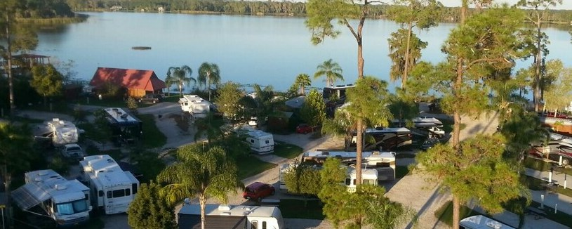 Orlando Florida Campground Orlando Se Lake