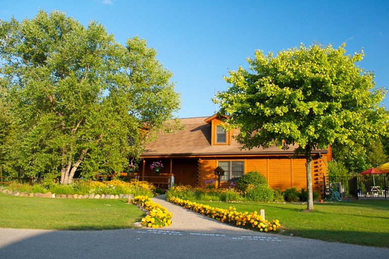 Petoskey, Michigan Extended Stay Sites | Petoskey KOA