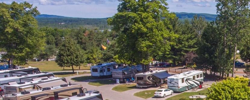 Petoskey Michigan Campground Petoskey Koa