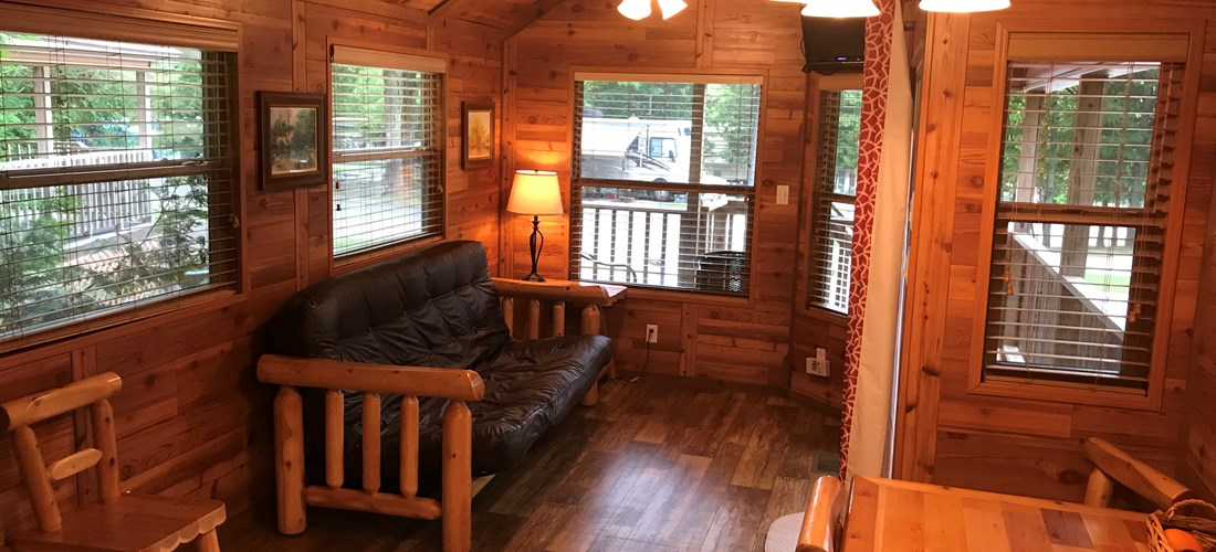 "Camping Lodge ""B"" Living/Dining"