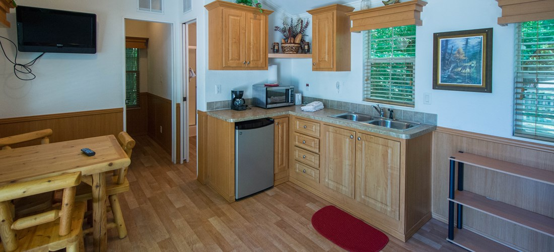 "Camping Lodge ""A"" Kitchen"