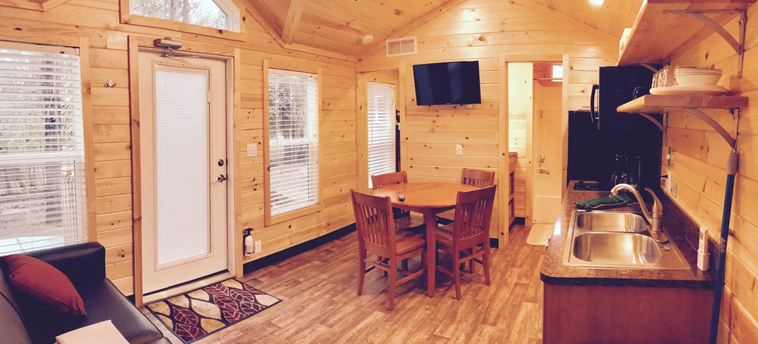 "Camping Lodge ""D"" Living/Dining/Kitchen"