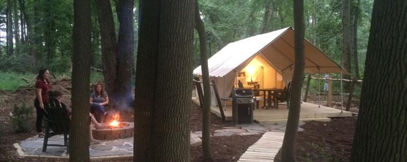 Check out our New Glamping Tents