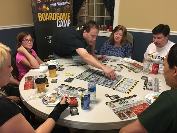 Camping & Board Games