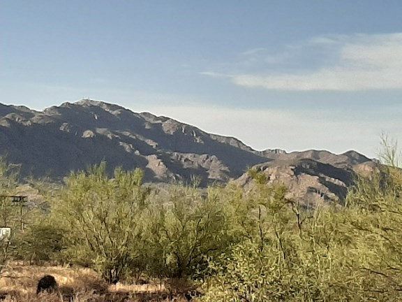 The Picacho Mountains