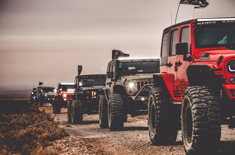 Great Smokey Mountain Jeep Invasion Event At The Pigeon Forge