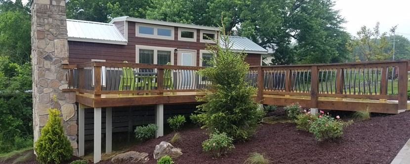 Try our New Deluxe Cabins!