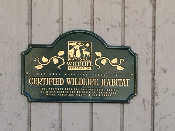 Certified Wildlife Habitat