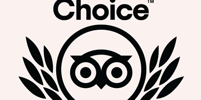 Travelers Choice Award 2020 from Trip Advisor