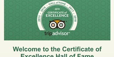 Hall of Fame ~ Trip Advisor 2019