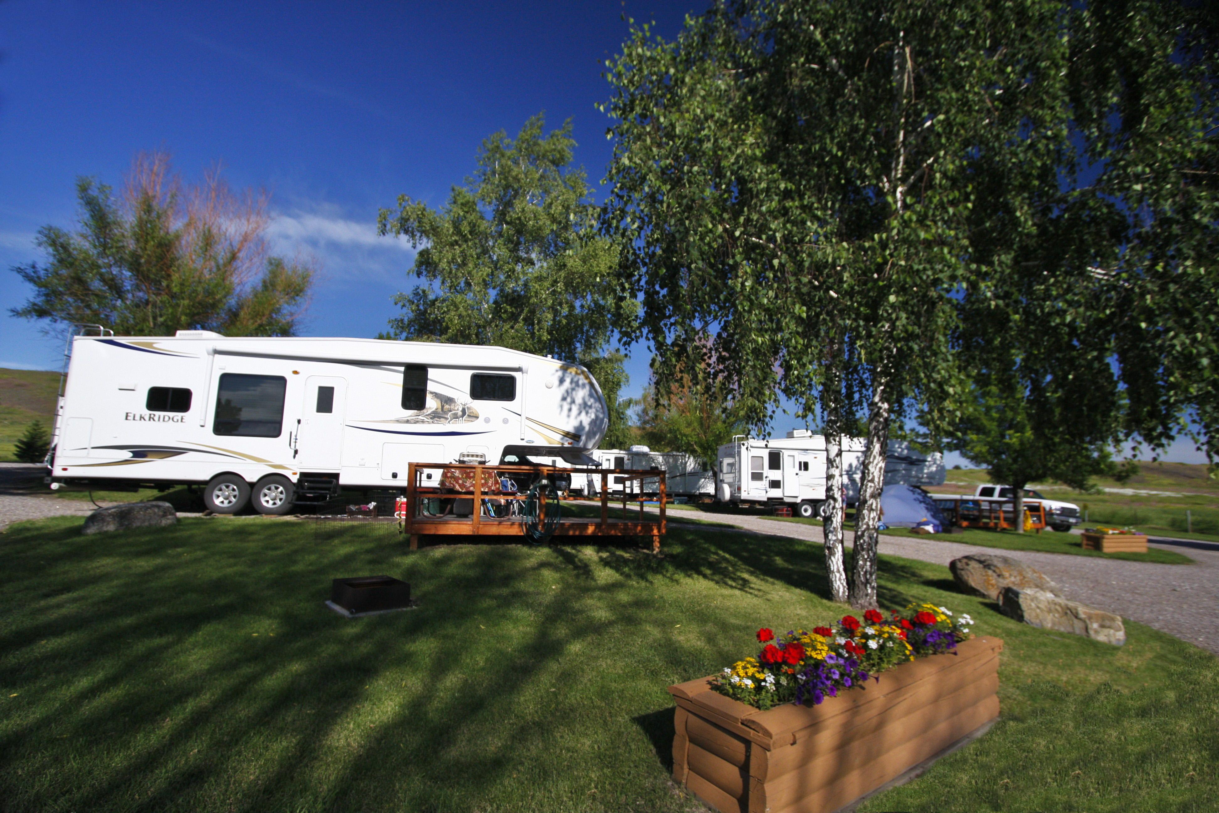 Polson, Montana Campground   Polson / Flathead Lake KOA