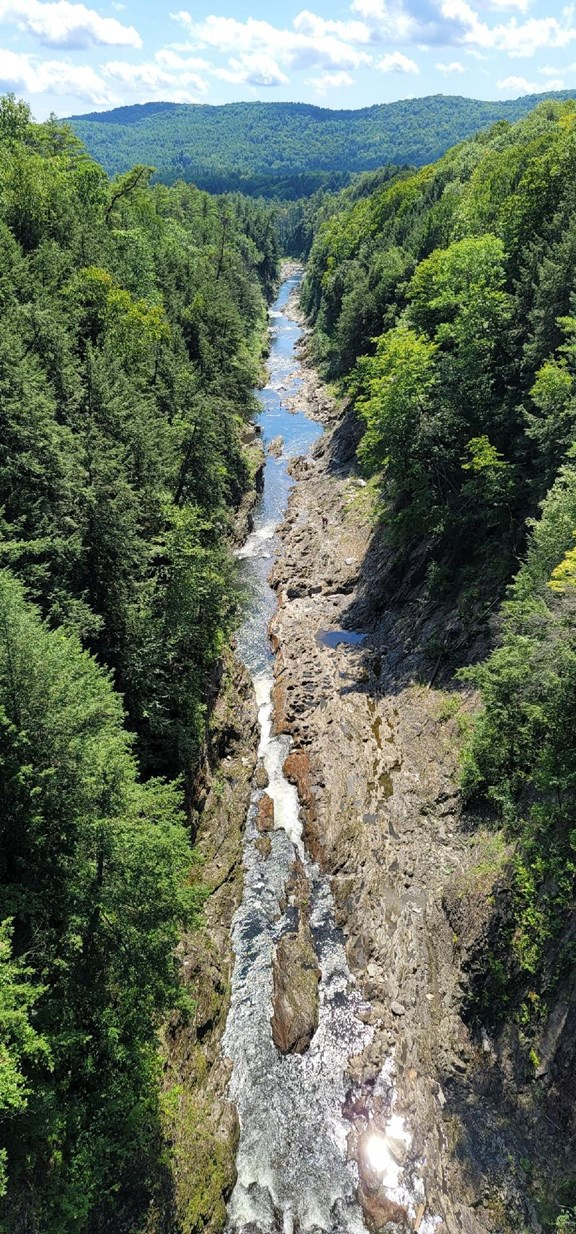 The Spectacular Quechee Gorge