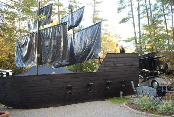 The Best Pirate Ship We Ever Saw-The S.S. Golden!