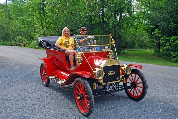 Memorable Ride In This Vintage 1912 Ford Model T