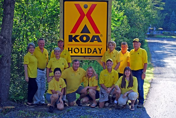We're Now A KOA Holiday!