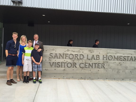Sanford Lab Homestake Gold Mine Visitor Center