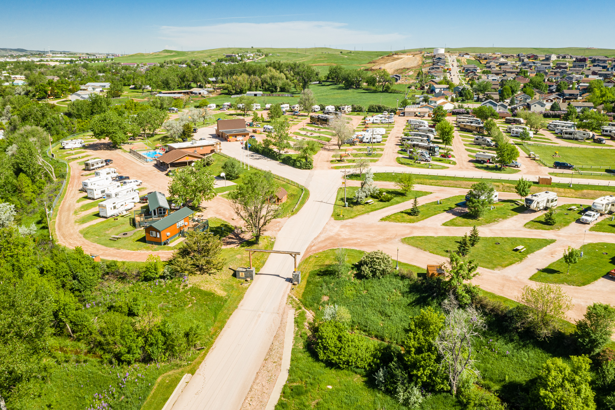 Rapid City South Dakota Campground Rapid City Black Hills Koa