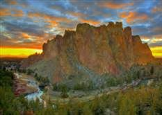 Smith Rock State Park (12 miles)