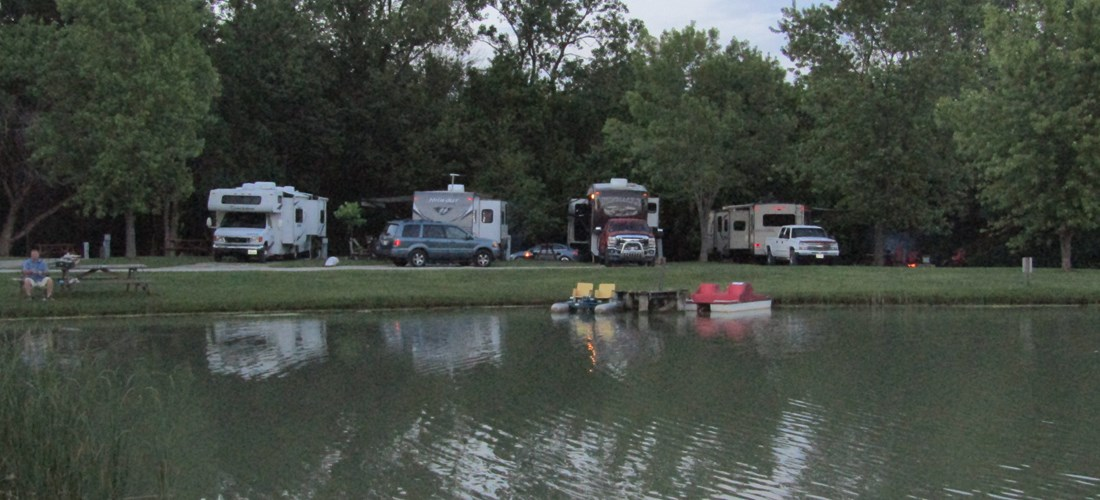 lakefront rv sites
