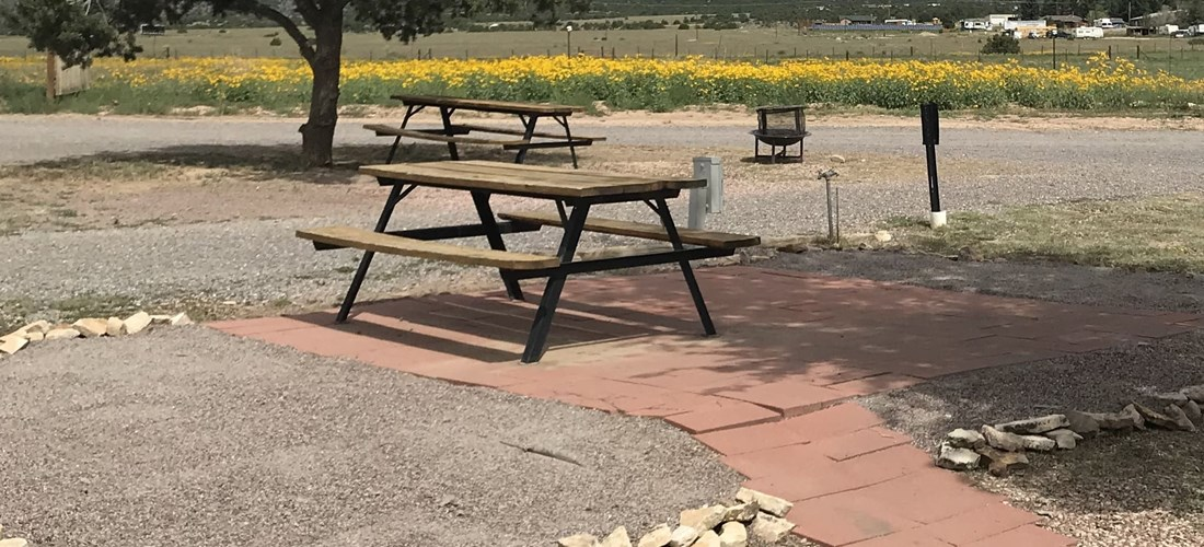 Patio Site on North Side with Great Mountain Views