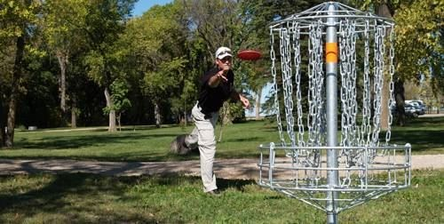 Disc Golf @ Jay Reynolds Park