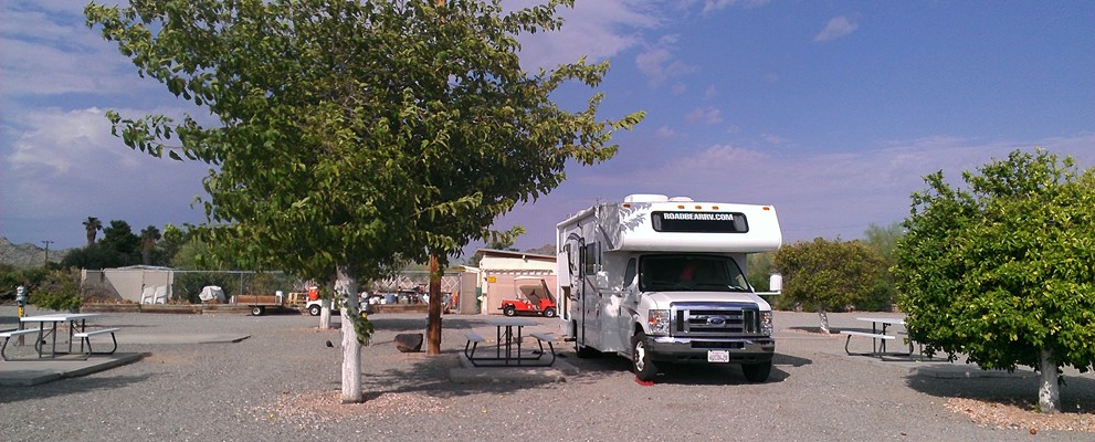 RVs up to 30 feet close to pool, spa, laundry and bathrooms