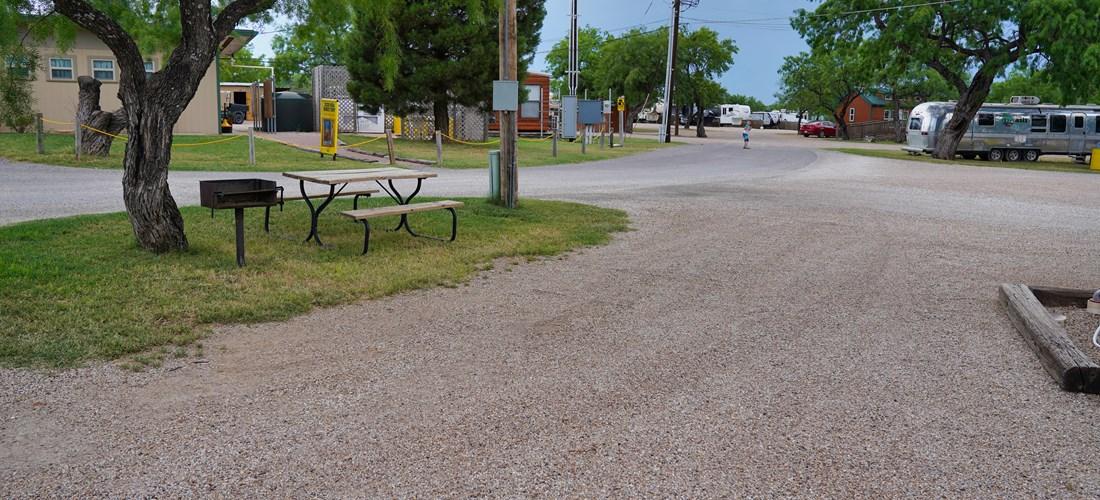 San Angelo, Texas RV Camping Sites   San Angelo KOA