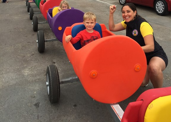 Barrel Train Rides