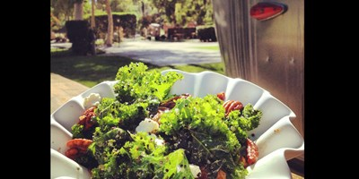 Camping Recipe: Overnight Kale Salad with Quinoa