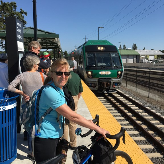 Take the Smart Train to San Francisco