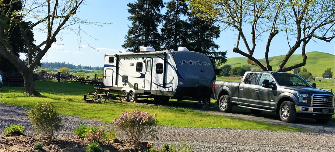 Brand new 50 amp back in RV sites in the Valley View area feature Direct TV cable, picnic table , fire ring and daily concierge septic pumping.