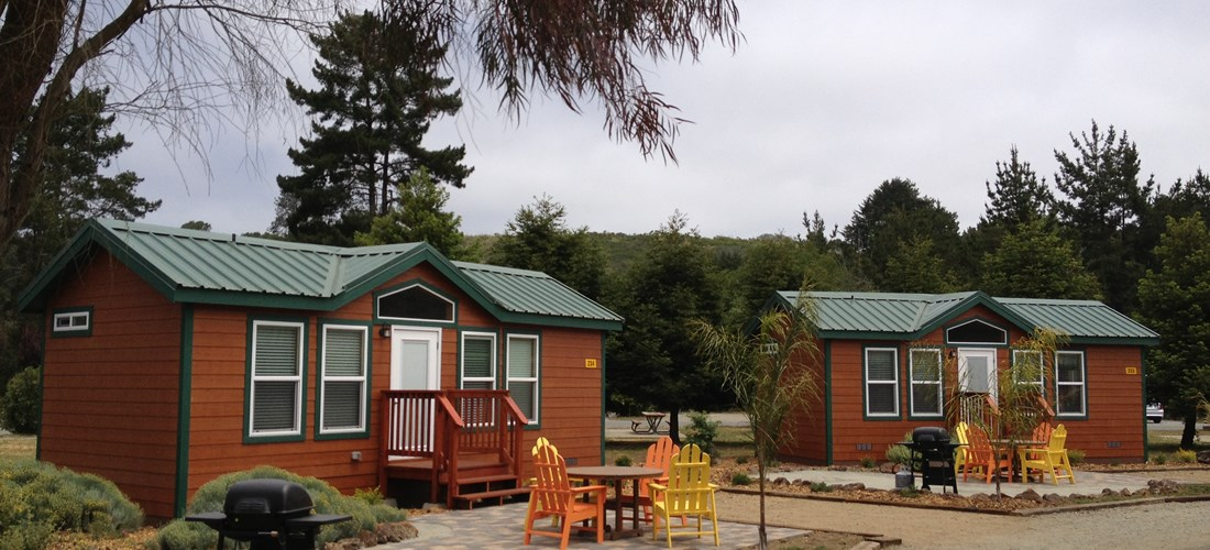 Beautiful Deluxe Cabins!
