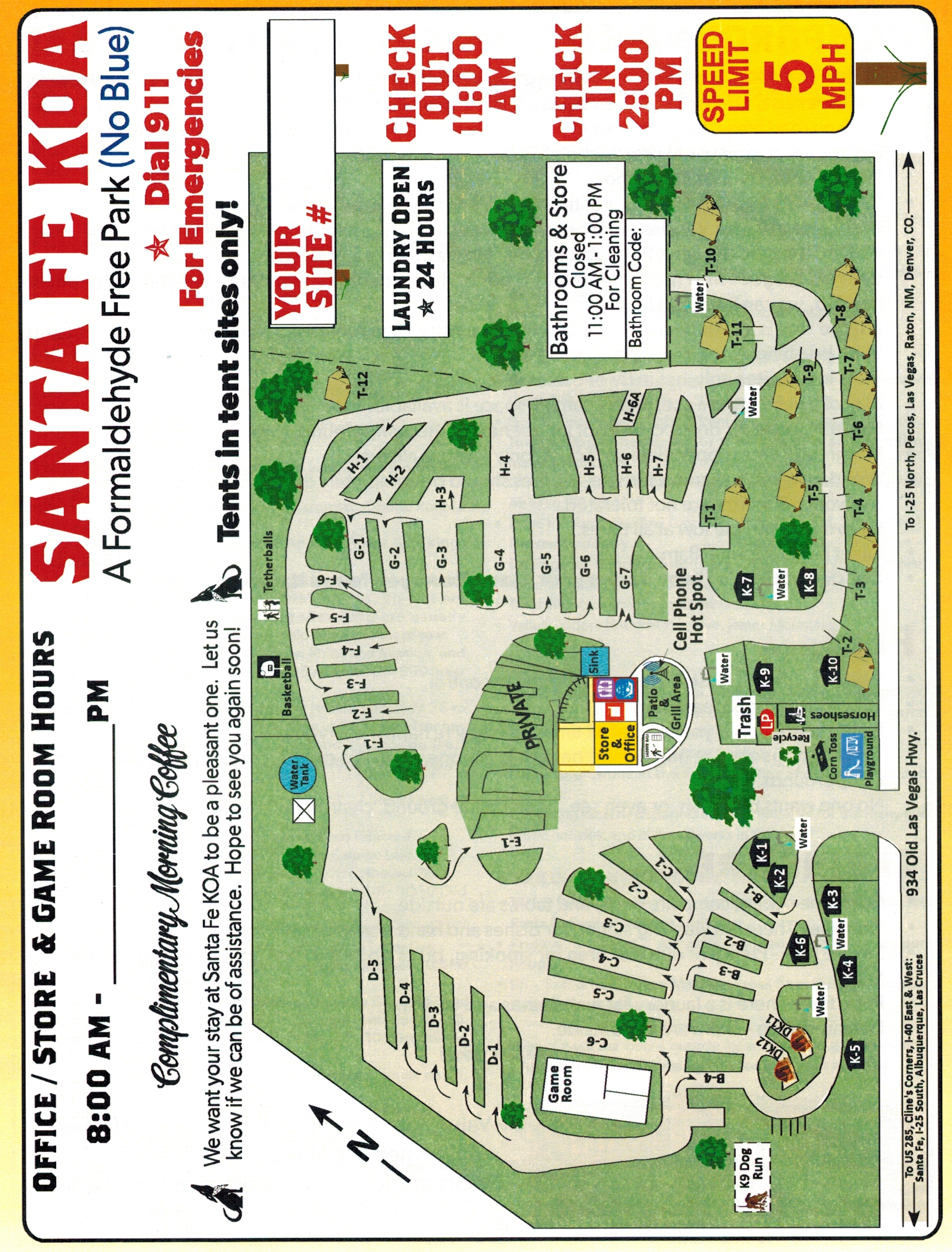 Santa Fe, New Mexico Campground | Santa Fe KOA on chicago museums map, clayton ok map, espanola map, paris museums map, shopping map, philadelphia museums map, boston museums map, contact us map,