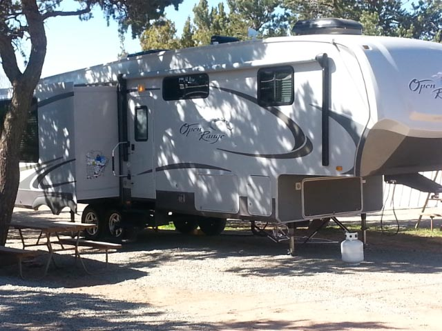 nm campgrounds with full hookups