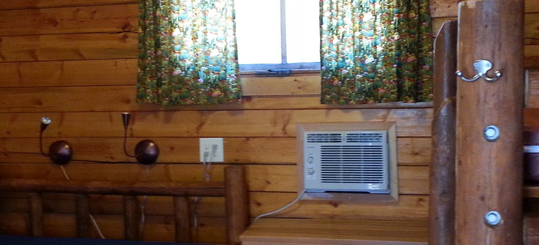 1 Rm Camping Cabin AC; No Pets