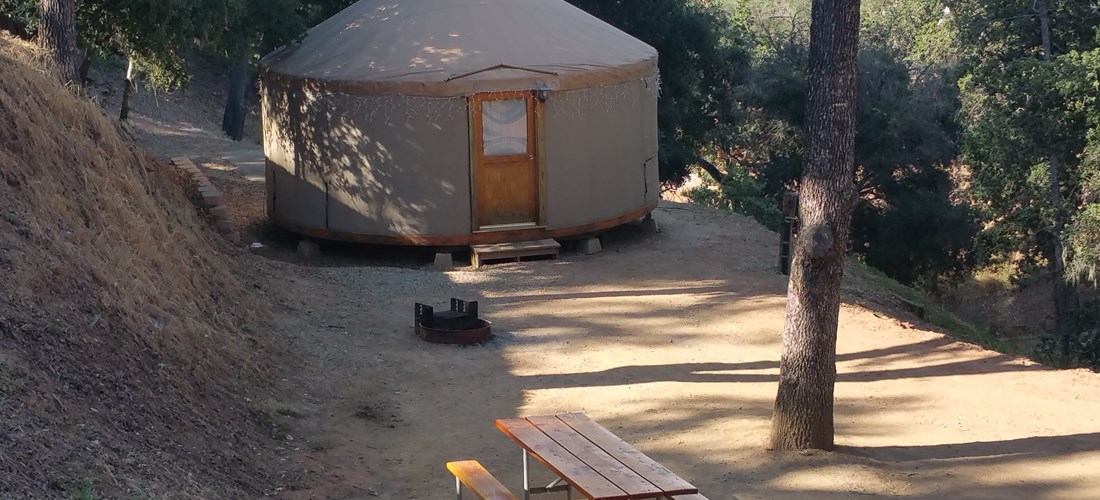"Remote Yurt Across from ""Fingers"" Tent Area"