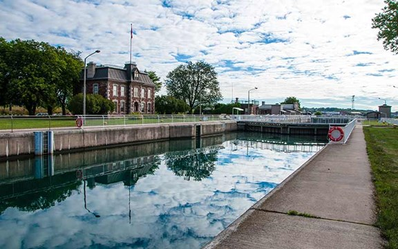 Canadian Locks (Sault Ste Marie Ontario Canal)