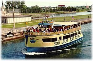 Lock Tours Sault Ste Marie Michigan