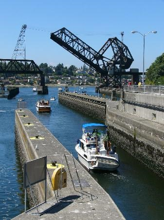 Hiram-Chittenden Locks and Lake Washington Ship Canal