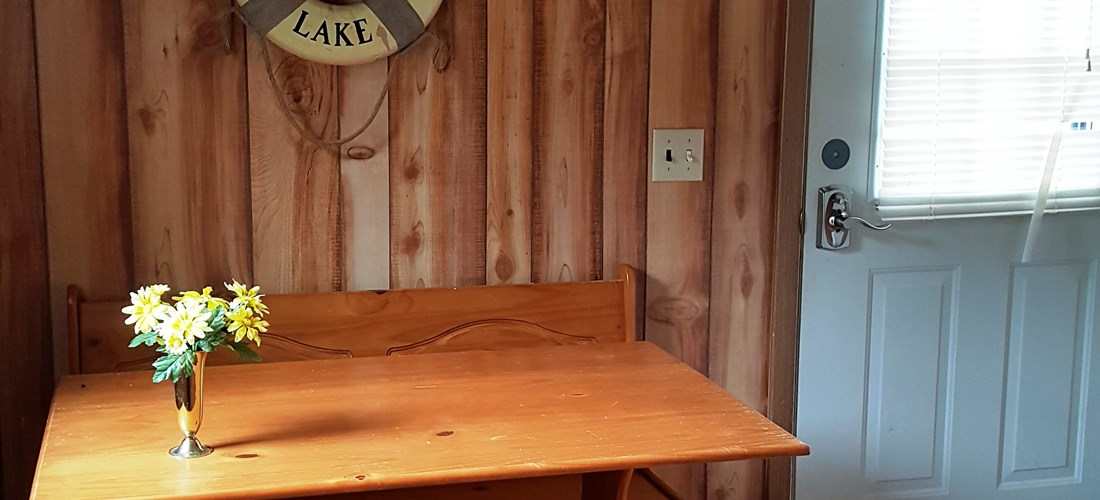 Bunkhouse table area