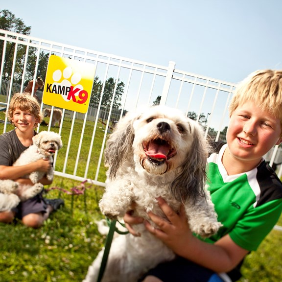 Your furry friends will love our Kamp K9® Dog Park