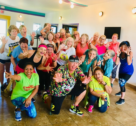 Zumba and Aqua Zumba classes
