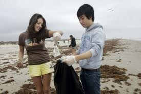 Adopt-A-Beach Fall Cleanup, September
