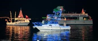 Christmas Lighted Boat Parade, December