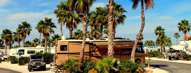 RV luxury living! (Photo courtesy of Larry Slate, SPI KOA guest)