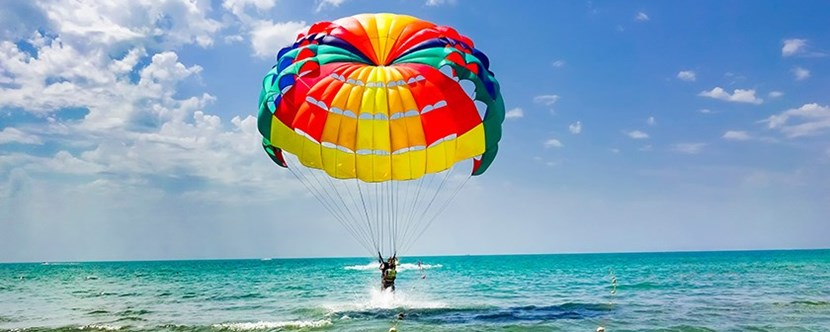 Spend the day Parasailing.