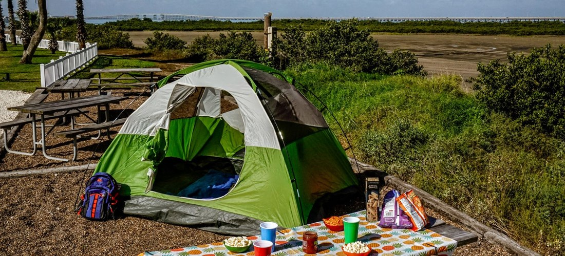 Tent camping available